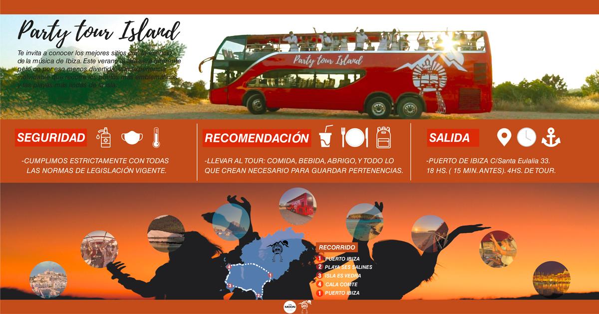 PARTY TOUR ISLAND - IBIZA