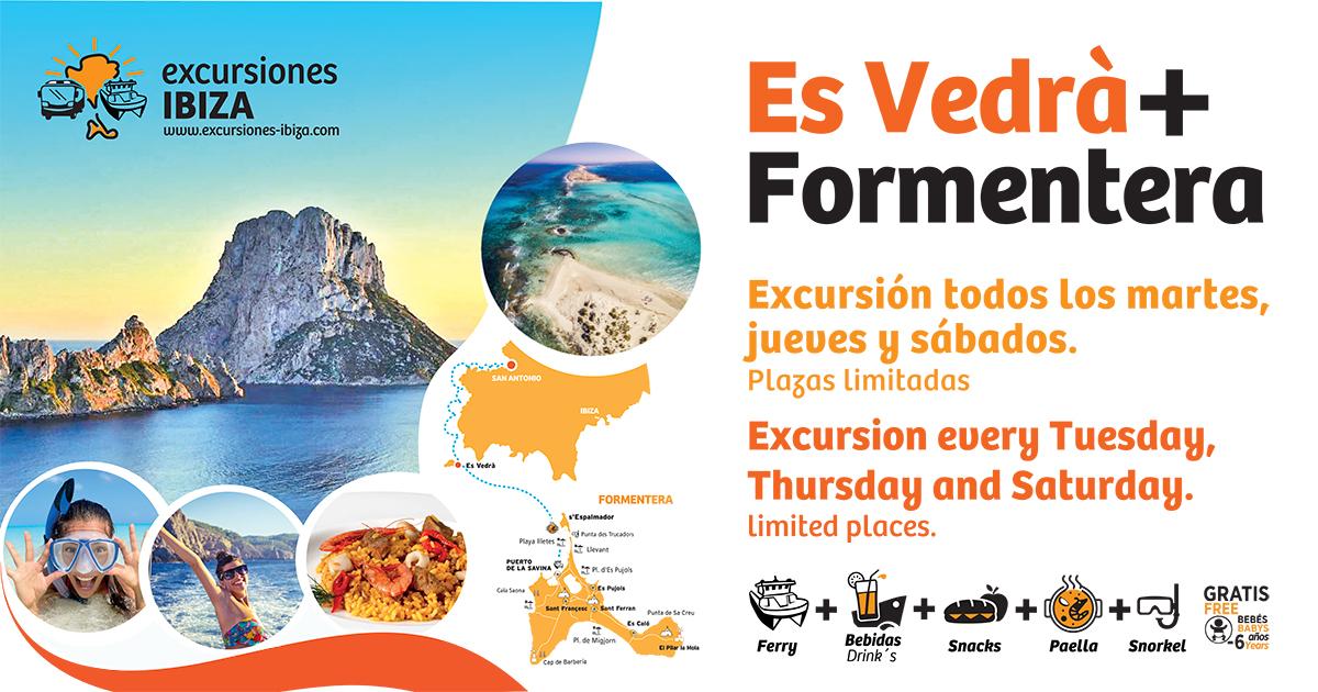 TOUR IN ES VEDRA + FORMENTERA - 1 ADULT