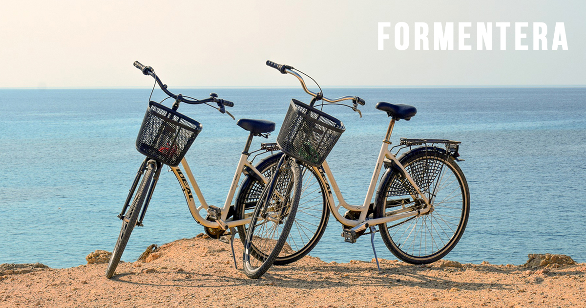 1 DAY - 1 BICYCLE RENT in FORMENTERA